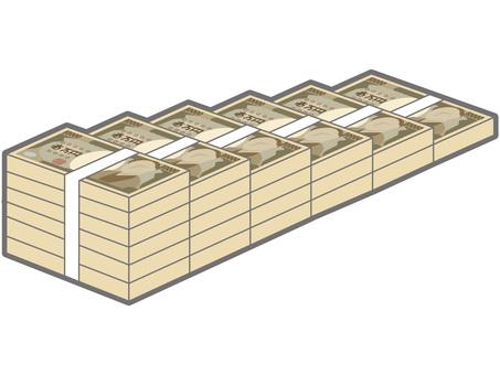 뭉치의 계단 (오른쪽 감소)