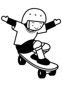 Skateboard 1c