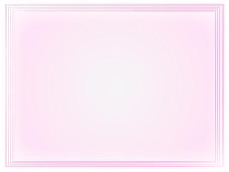 Gradient frame (pink)