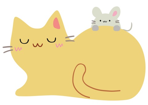 Friend cat and mouse 3