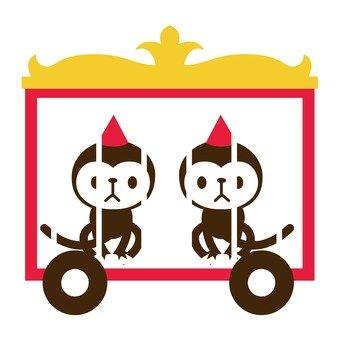 Circus's monkey