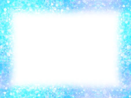 Mixing dot 8 (blue purple frame)