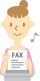 Female 034 (FAX messenger ♪)