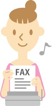 Female 034 (FAX messenger ♪)