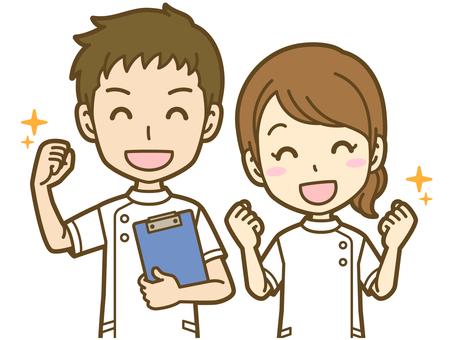 男女(看護師):A_気合01BS