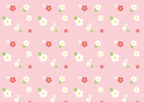 Flower pattern ● Spring pink