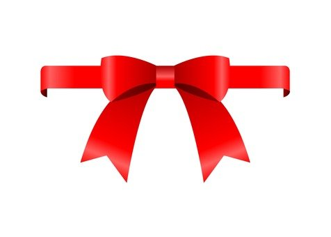 Wrapping ribbon (red)