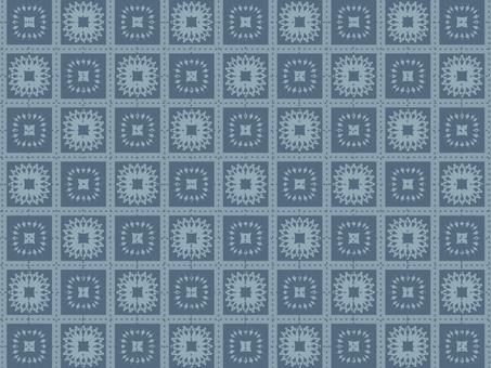 Check & Frill Pattern Wallpaper 9