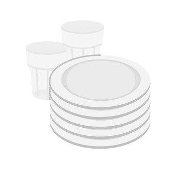 컵과 접시