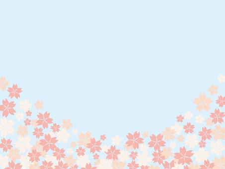 벚꽃 배경 소재