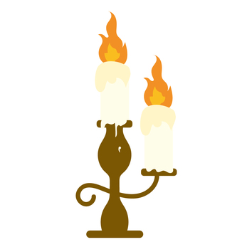 Candle candlestick