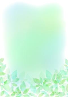 Fresh green material 152