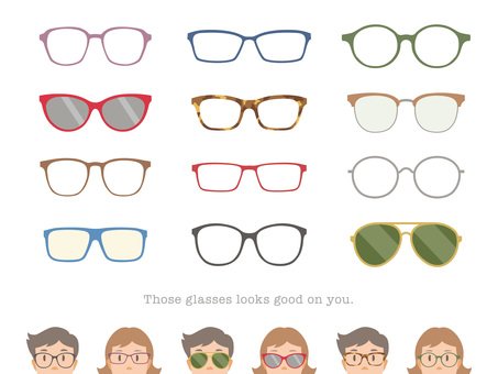 Various glasses_01