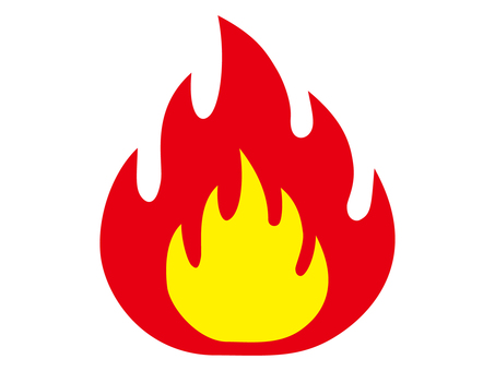 Fire color icon