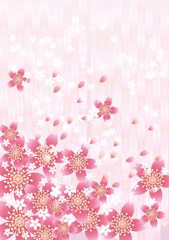さくらの花&ピンク矢羽13