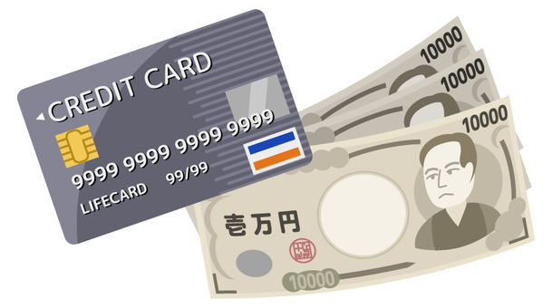 Credit card and money 2_ No wire