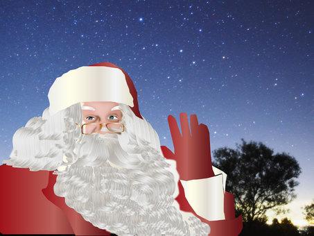 Starry Sky Santa 01