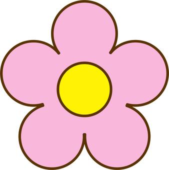 Flower mark shape