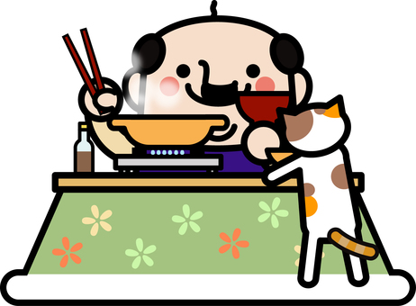 Uncle fairy with a kotatsu pot
