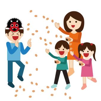 Family Series (Setsubun) Bean Maki