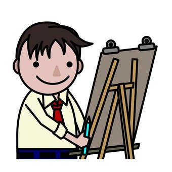 Junior High School Day - Art Class