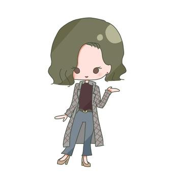 Mini character 1