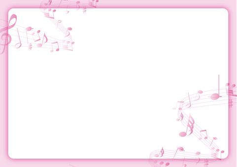 Musical frame