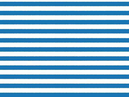 파란색 거친 테두리 선 견본