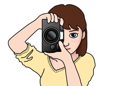 單鏡反光(14)女E.