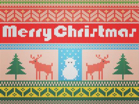 Knitting knitting (Christmas)