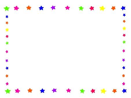 Star frame ☆