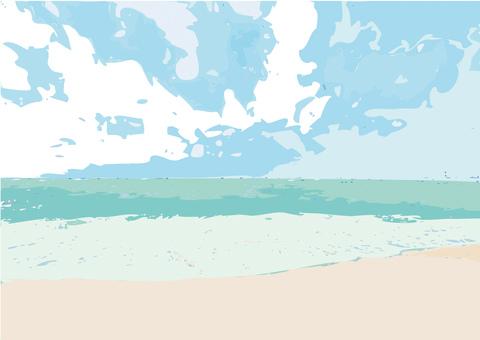 바다 이미지
