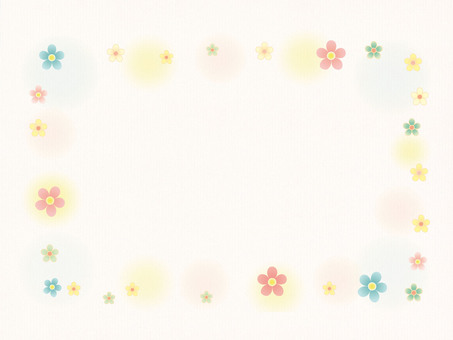 Flower frame 2 (background paper)