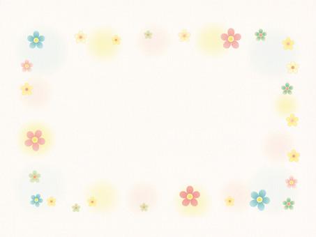 꽃 frame2 (배경 종이)