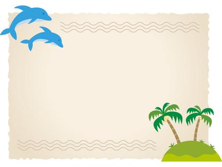 Sea frame island
