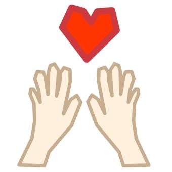 Hand and hand ②