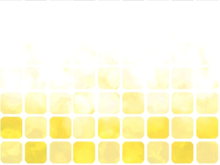 Watercolor style tile gradation yellow