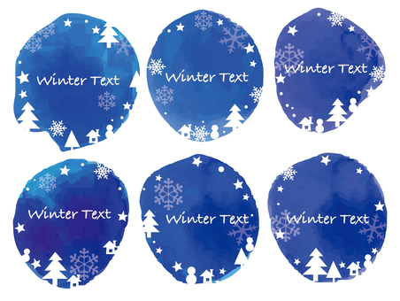 冬の枠 クリスマス 枠
