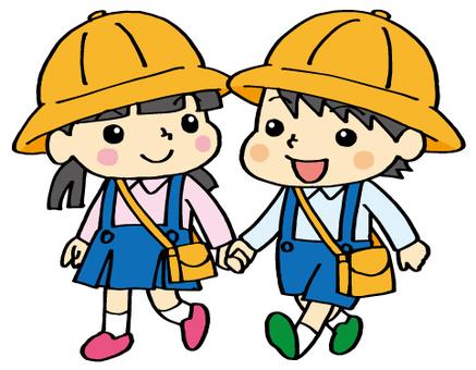 I am going to a kindergarten.