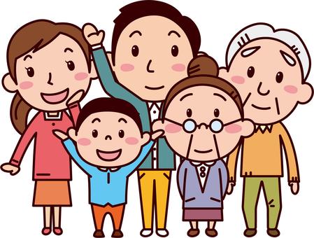家族三世代