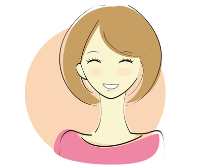A woman with a smile 4