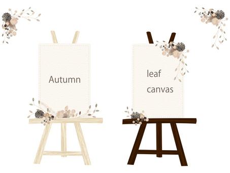 Autumn color frame set ver 08