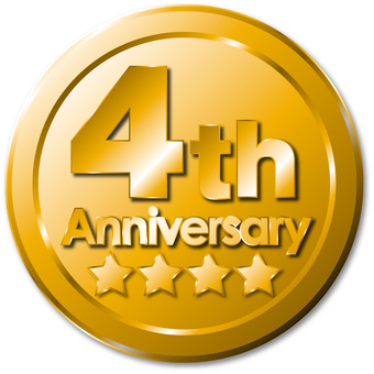 4 th Anniversary Medal