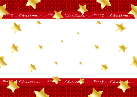 Christmas star knitted background