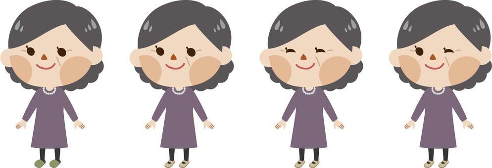Pifu middle-aged women