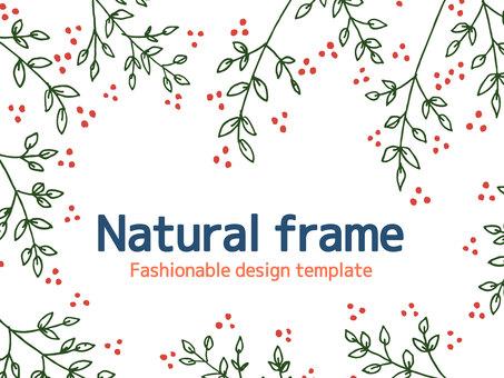 Plant simple frame <02>