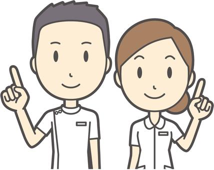 男女セット看護師-027-バスト