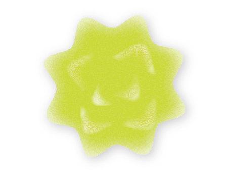綠色的桃糖