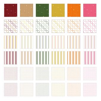 Various pattern pattern 4 Fall