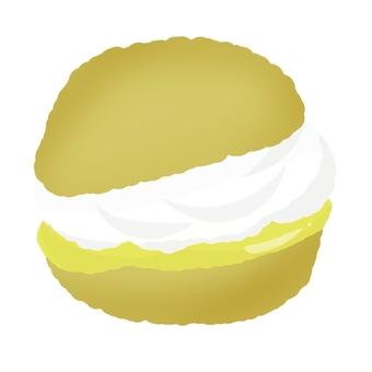 Custard and cream cream cream
